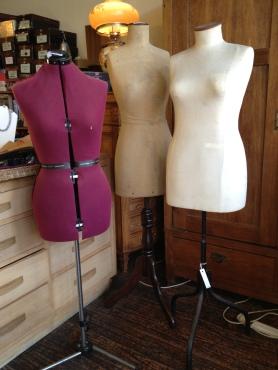 Dressmaker's dummies 1900 to 1970