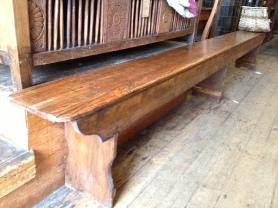 Wooden stool 3.6 metres