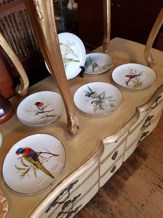 Wall Plates Ceramic Australian Birds | Grays 303